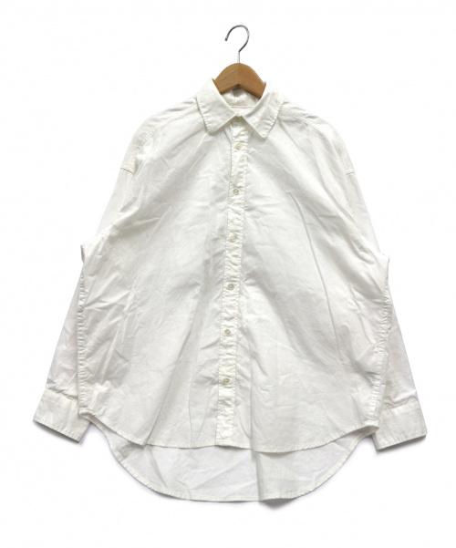 FRAMeWORK(フレームワーク)FRAMeWORK (フレームワーク) ダンガリーシャツ ホワイト サイズ:表記無し 20SS 完売品の古着・服飾アイテム
