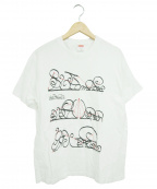 SUPREME()の古着「システムTシャツ」|ホワイト