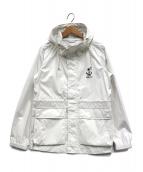 FIDELITY(フィデリティ)の古着「2.5 LAYER RAIN PARKA」|ホワイト