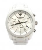 EMPORIO ARMANI(エンポリオアルマーニ)の古着「腕時計」