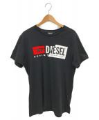 DIESEL(ディーゼル)の古着「NEWロゴTシャツ」|ブラック