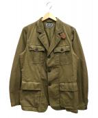 C.P COMPANY(シーピーカンパニー)の古着「ミリタリージャケット」|オリーブ