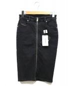 DIESEL(ディーゼル)の古着「DE-PENCIL-ZIP」|ブラック