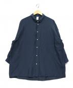 NO CONTROL AIR(ノーコントロールエアー)の古着「オーバーサイズシャツ」|ネイビー