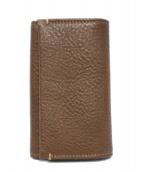 土屋鞄(ツチヤカバン)の古着「キーケース」|ブラウン