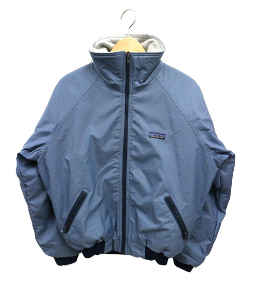 Patagonia(パタゴニア)Patagonia (パタゴニア) 80sヴィンテージハイネックブルゾン ブルー サイズ:Mの古着・服飾アイテム