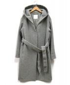 自由区(ジユウク)の古着「カシミヤミックスウール2wayコート」|グレー