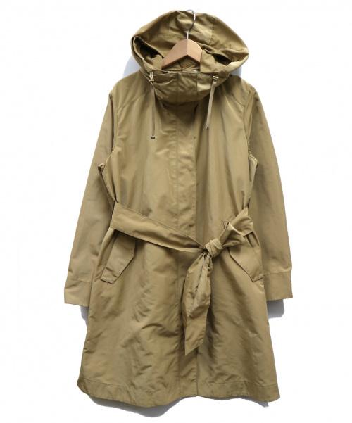 自由区(ジユウク)自由区 (ジユウク) メモリーライトタフタアウター ベージュ サイズ:38の古着・服飾アイテム