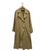 Spick and Span(スピックアンドスパン)の古着「製品染めオーバーコート」|ベージュ