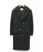 DENIM & SUPPLY RALPH LAUREN(デニムアンドサプライ ラルフローレン)の古着「ウールコート」|ブラック