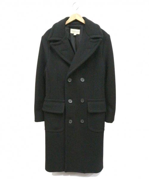 DENIM & SUPPLY RALPH LAUREN(デニムアンドサプライ ラルフローレン)DENIM & SUPPLY RALPH LAUREN (デニムアンドサプライ ラルフローレン) ウールコート ブラック サイズ:XSの古着・服飾アイテム