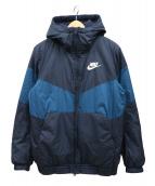 NIKE(ナイキ)の古着「シンフィルフーディジャケット」|ブルー