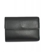 HIROFU(ヒロフ)の古着「3つ折り財布」|ブラック