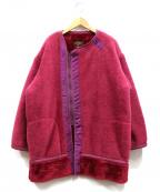 Sunny Sports(サニースポーツ)の古着「フリースジャケット」 ピンク