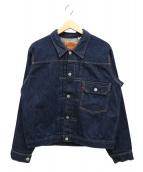 LEVI'S(リーバイス)の古着「1st 復刻デニムジャケット」|インディゴ