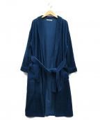ROTT WEILER(ロットワイラー)の古着「コーデュロイガウンコート」|ブルー