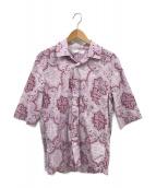 DIESEL(ディーゼル)の古着「オープンカラーシャツ」|パープル