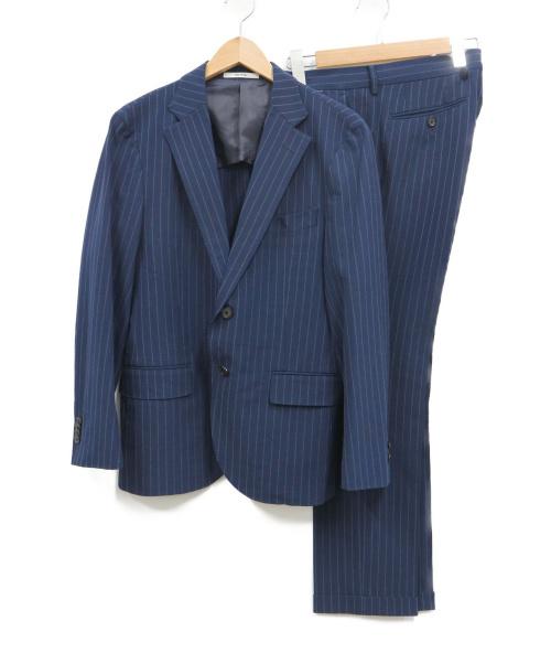 MACKINTOSH PHILOSOPHY(マッキントッシュフィロソフィー)MACKINTOSH PHILOSOPHY (マッキントッシュフィロソフィー) セットアップスーツ ネイビー サイズ:38Rの古着・服飾アイテム