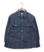 WTAPS(ダブルタップス)の古着「シャンブレーシャツ」|インディゴ