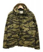 TENDERLOIN(テンダーロイン)の古着「T-HUNTING DOWN JKT BB」|カーキ