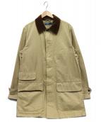 POLO RALPH LAUREN(ポロ・ラルフローレン)の古着「襟コーデュロイワークコート」|ベージュ