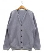 crepuscule(クレプスキュール)の古着「Moss Stitch Cardigan」|ブルー