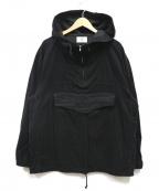 KUON(クオン)の古着「裂き織コーデュロイアノラック」|ブラック