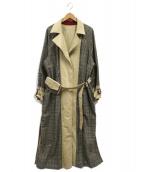 Ameri VINTAGE(アメリヴィンテージ)の古着「REVERSIBLE TRENCH COAT」|ベージュ