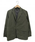 DESCENTE(デサント)の古着「Seamtaped Jacket」 カーキ