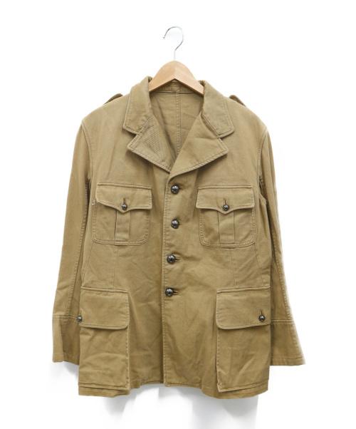 PHERROWS(フェローズ)PHERROWS (フェローズ) サファリジャケット ベージュ サイズ:40の古着・服飾アイテム
