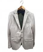 eleventy(イレブンティ)の古着「コットンジャージ2Bジャケット」 グレー