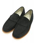 STUSSY × Timberland(ステューシー × ティンバーランド)の古着「Deluxe Leather Vibram Loafer」|ネイビー