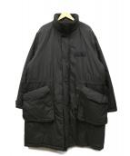 BEAMS(ビームス)の古着「プリマロフトモッズコート」 ブラック