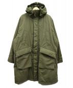 KAPTAIN SUNSHINE(キャプテン サンシャイン)の古着「パディングフィールドコート」|カーキ