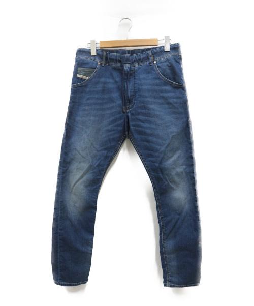 DIESEL(ディーゼル)DIESEL (ディーゼル) ジョグジーンズ インディゴ サイズ:W30 KROOLEY-NEの古着・服飾アイテム
