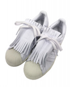 adidas(アディダス)の古着「SUPPERSUTAR FR」 ホワイト