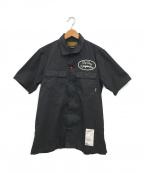 NEIGHBORHOOD()の古着「オープンカラーワークシャツ」|ブラック