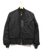 BUZZ RICKSON'S(バズリクソンズ)の古着「MA-1ジャケット」 ブラック