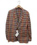 Paul Smith London(ポールスロンドン)の古着「チェックテーラードジャケット」 マルチカラー