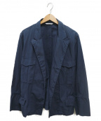 UMIT BENAN(ウミットベナン)の古着「CTN SAFARI JKT」|ネイビー