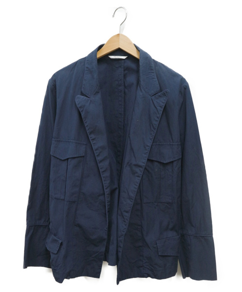 UMIT BENAN(ウミットベナン)UMIT BENAN (ウミットベナン) CTN SAFARI JKT ネイビー サイズ:46の古着・服飾アイテム
