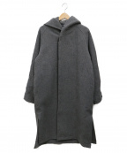 MONKEY TIME()の古着「 KRS MELTON HOOD GOWN」|グレー