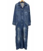 LEE(リー)の古着「デニムオールインワン」|ブルー