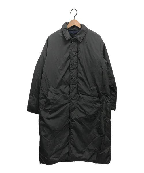 ROSSO(ロッソ)ROSSO (ロッソ) 丸井織物中綿ステンカラーコート グレー サイズ:Sの古着・服飾アイテム