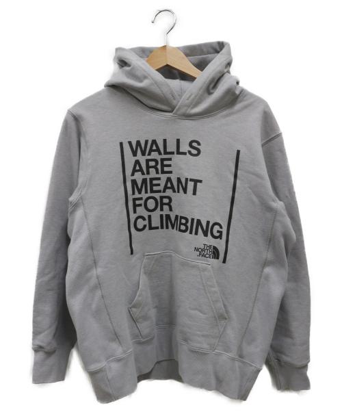 THE NORTH FACE(ザ ノース フェイス)THE NORTH FACE (ザノースフェイス) ウォールズフーディ グレー サイズ:S Walls Hoodieの古着・服飾アイテム
