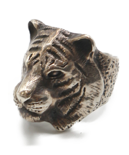 DOG STATE(ドッグステイト)DOG STATE (ドッグステイト) タイガーアニマルリング サイズ:20号の古着・服飾アイテム