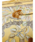 中古・古着 HERMES (エルメス) くるみ割りスカーフ ブラウン×イエロー カレ90 CASSE NOISETTE:17800円