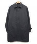 JOSEPH HOMME(ジョゼフ オム)の古着「ライナー付ステンカラーコート」 ブラック