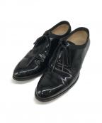 Dior()の古着「パテントシューズ」|ブラック
