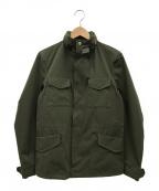 AKM(エーケーエム)の古着「M-65ジャケット」 カーキ